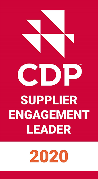 CDP 2020 CDP Supplier Engagement Rating